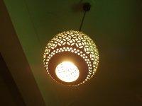 「松坂屋本店」館内のランプ