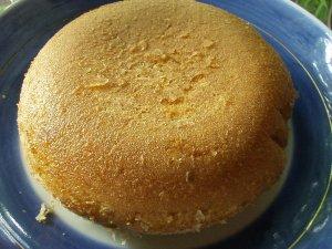 炊飯器で作ったパンケーキ