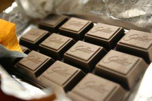 カカオ85%のチョコレート