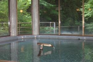 白龍閣の浴場