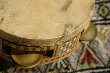 エジプトのタンバリン