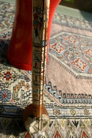 エジプトの弦楽器