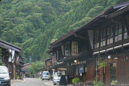 奈良井宿、kuu撮影