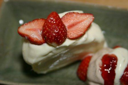 ロマノフのイチゴケーキ