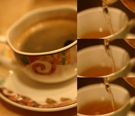 珈琲と紅茶