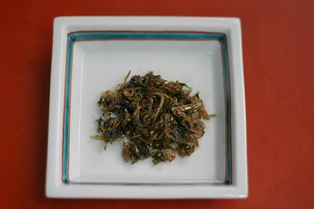 青紫蘇の実の佃煮