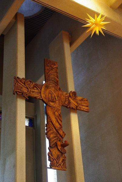 教会の十字架
