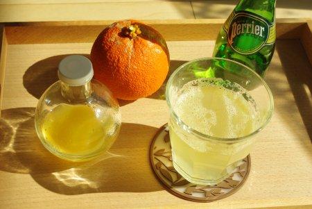 橙+炭酸水