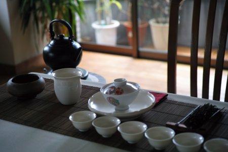 台湾茶 しつらえ