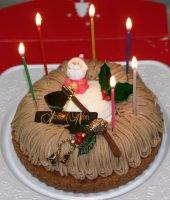 クリスマスケーキ、kaze撮影